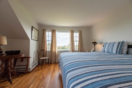 Orleans Cape Cod vacation rental - Upper level king bedroom with water view