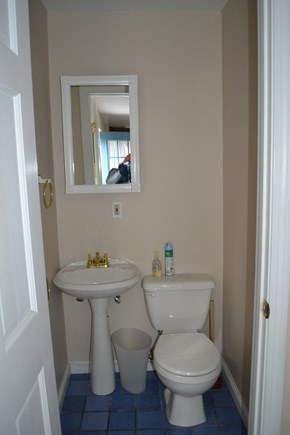 Dennis Port Cape Cod vacation rental - First Floor 1/2 bath - 1 of 2 in the house. The other is a full.