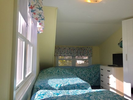 Dennis Port Cape Cod vacation rental - 2nd Floor Bedroom with 3 twin beds