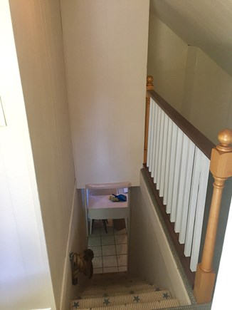 Dennis Port Cape Cod vacation rental - Stairs/ 2nd floor hall.
