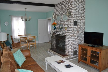Dennis Port Cape Cod vacation rental - Living Room/Dining Room