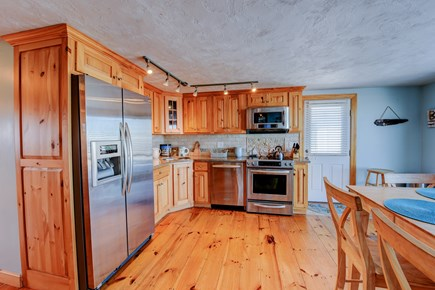 Sagamore Beach Sagamore Beach vacation rental - Custom cabinetry and granite counters create a welcoming Kitchen.
