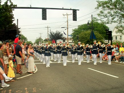 Hyannis Cape Cod vacation rental - The 4th of July in Hyannis on Main street