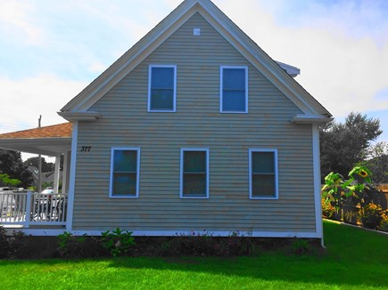 Hyannis Cape Cod vacation rental - Professional landscaping full fenced backyard