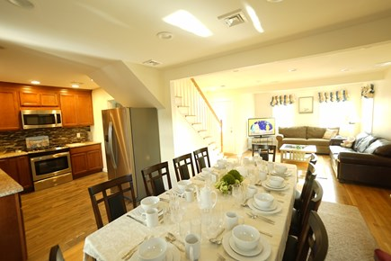 Hyannis Cape Cod vacation rental - The living and dining rooms