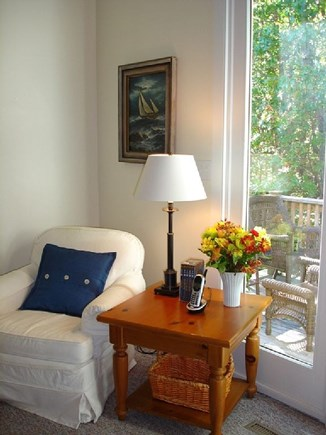 Chatham, East Harwich Cape Cod vacation rental - Reading corner