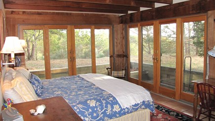 Truro Cape Cod vacation rental - Bedroom with king bed