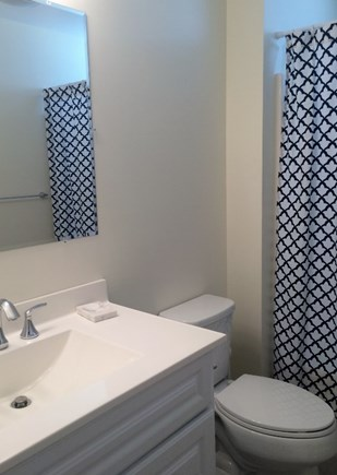 Truro, Wellfleet Cape Cod vacation rental - Master bathroom