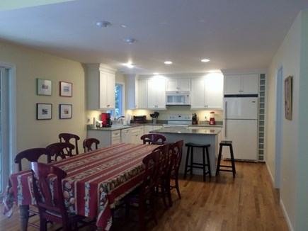 Truro, Wellfleet Cape Cod vacation rental - Kitchen and dining area