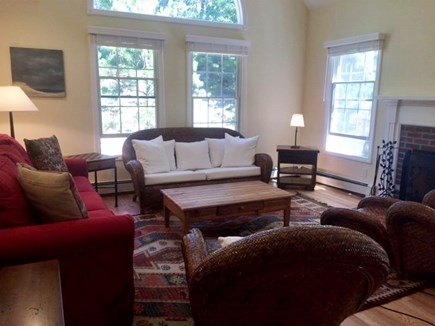 Truro, Wellfleet Cape Cod vacation rental - Living room