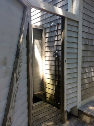 Truro, Wellfleet Cape Cod vacation rental - Enclosed outdoor shower