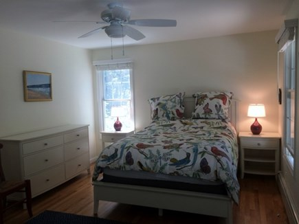 Truro, Wellfleet Cape Cod vacation rental - Master bedroom with bathroom connected
