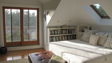 Truro Cape Cod vacation rental - Partial view of the Master Suite with access to small deck