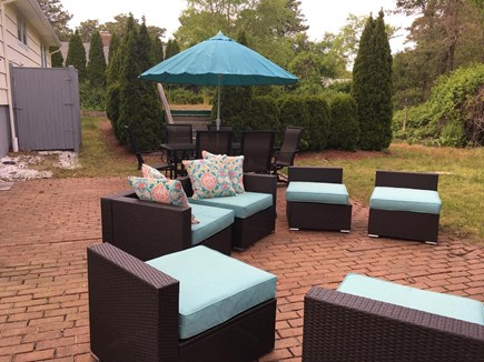 Harwich Cape Cod vacation rental - Great outside area to sit and relax!