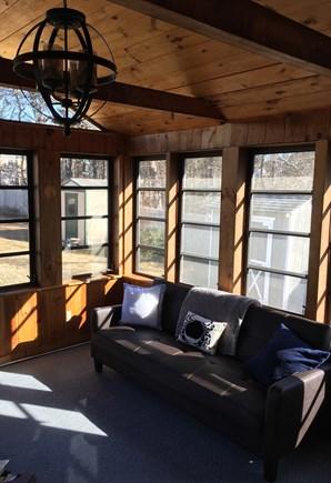Dennisport Cape Cod vacation rental - Porch with futon