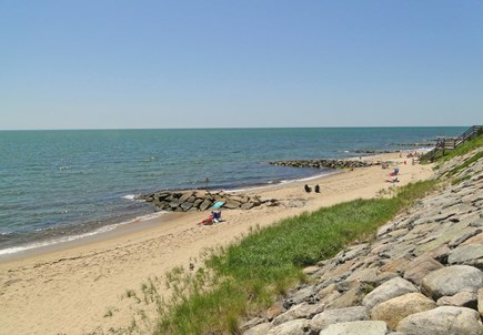 Dennisport Cape Cod vacation rental - Beautiful Sea St Beach on Nantucket Sound is only 7/10 mile away