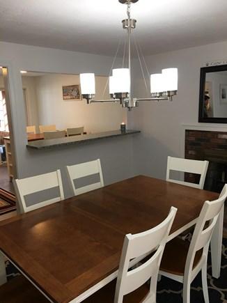 Dennisport Cape Cod vacation rental - Dining room, seats 6