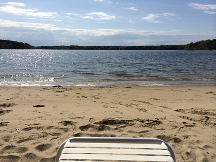 South Dennis Cape Cod vacation rental - Private Neighborhood Beach on Follins Pond/Bass River Headwaters.
