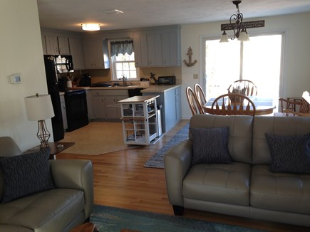 South Dennis Cape Cod vacation rental - Bright, Cheerful, Open Floor Plan with slider to deck