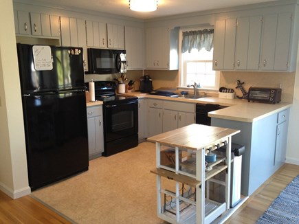 South Dennis Cape Cod vacation rental - Modern appliances in the kitchen