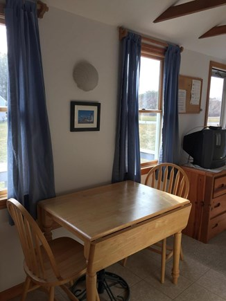 Truro Cape Cod vacation rental - Table can seat four guests