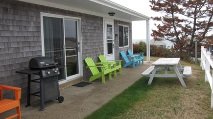 Truro Cape Cod vacation rental - Love the comfy Adirondack chairs!