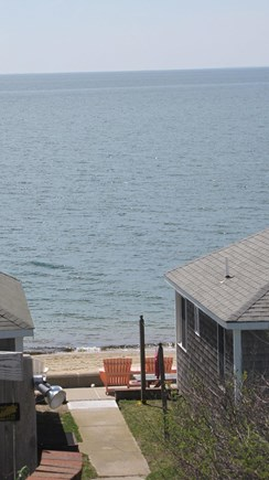 Truro Cape Cod vacation rental - Walk down to sandy beach, owner provides chairs!