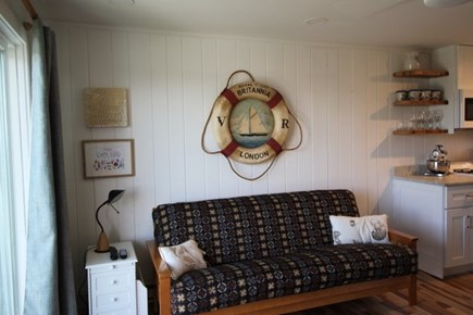 Truro Cape Cod vacation rental - Living Futon as Double Bed