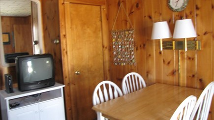 Truro Cape Cod vacation rental - Dining space in main room