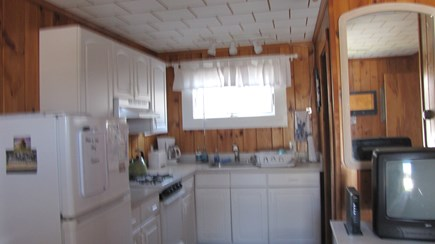 Truro Cape Cod vacation rental - Full kitchen has everything except dishwasher