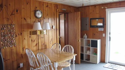 Truro Cape Cod vacation rental - The dining area