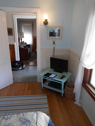 Truro Cape Cod vacation rental - Looking from front bedroom to living room