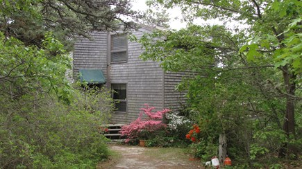 Truro Cape Cod vacation rental - Front of Home, enjoy privacy in a wooded setting