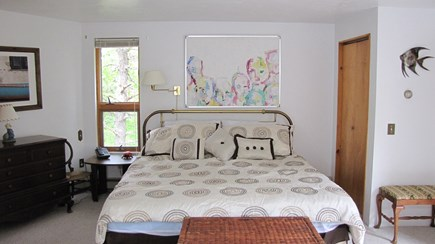 Truro Cape Cod vacation rental - Master bedroom with king bed