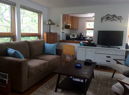 Truro Cape Cod vacation rental - Living room with new furniture