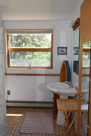 Truro Cape Cod vacation rental - Master suite bath with shower/tub
