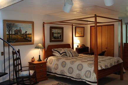 Truro Cape Cod vacation rental - Second bedroom suite has a queen bed