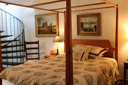 Truro Cape Cod vacation rental - Second bedroom to stairs, there is a full bath