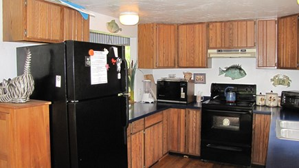 Truro Cape Cod vacation rental - Second view of kitchen