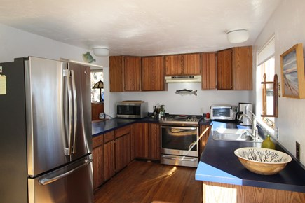 Truro Cape Cod vacation rental - Fully equipped Kitchen with Gas Range