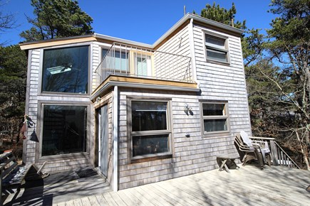 Truro Cape Cod vacation rental - Rear of Home