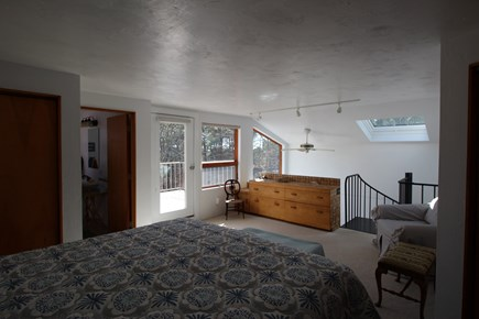 Truro Cape Cod vacation rental - Master Suite Opens to an Upper Deck