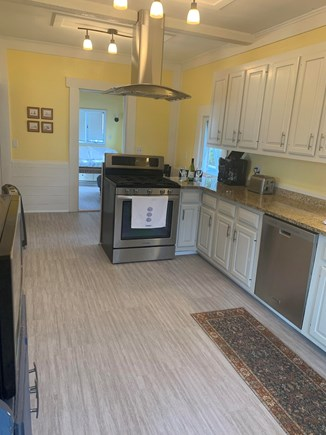 Onset MA vacation rental - Fully applianced kitchen with large assortment of take out menus.