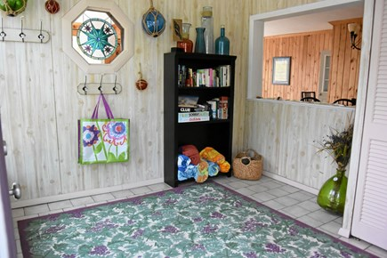 Onset MA vacation rental - Spacious entry way for beach stuff!