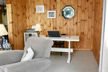 Onset MA vacation rental - If you have to work, do it with an ocean view.....