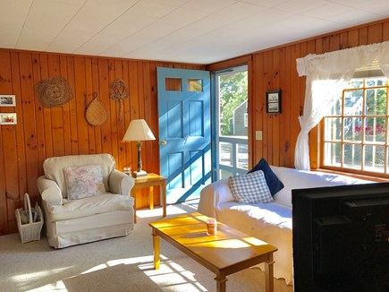 Eastham Cape Cod vacation rental - Sunny and bright living room