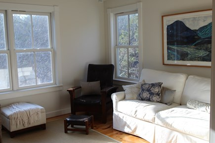 Truro Cape Cod vacation rental - Partial view of library