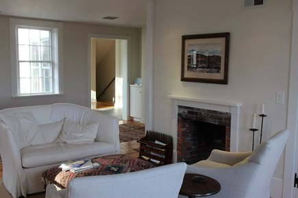 Truro Cape Cod vacation rental - Living room has more views, nice afternoon sunlight