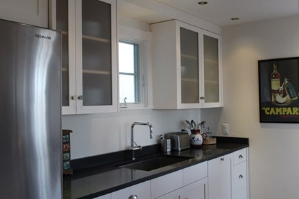 Truro Cape Cod vacation rental - Handsome kitchen has gas range