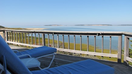 Wellfleet Cape Cod vacation rental - Lieutenant Island Living! Sensational views over Loagy Bay